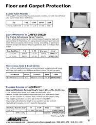 canvas floor runners floor and carpet protection