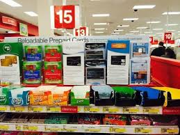reloadable debit cards spotted at target i m not sure this is a