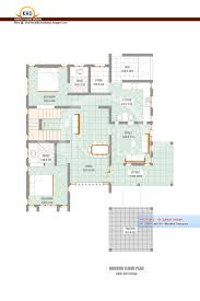 House Plans 2500 Square Feet by Home Plan And Elevation 2302 Sq Ft Kerala House Design Idea