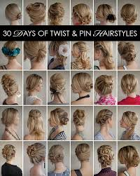 www hairstyle pin 30 days of twist pin hairstyles the hair romance ebook hair