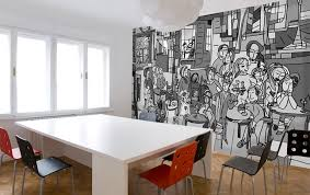 außergewöhnliche wandgestaltung wandgestaltung wohnzimmer bis küche schöner wohnen