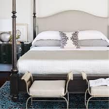 bernhardt sutton house upholstered canopy bed beds u2013 benjamin