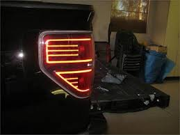2012 f150 tail lights how to diy painted edges on taillights ford raptor forum ford