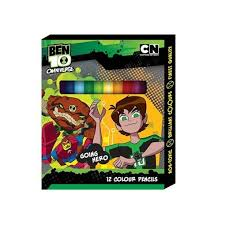 ben 10 omniverse 12pcs short colour pencil green colour lazada