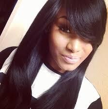 long hair styles with swoop bangs black hair swoop bang hairspiration pinterest bangs hair style and