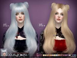 hair buns for hair s club s sclub ts4 hair bun