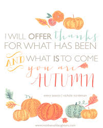 thanksgiving season free fall printable i will offer thanks mothers of daughters