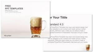 mug bear food powerpoint templates