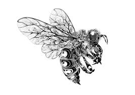 fly insect tattoo design