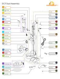 dyson dc17 parts diagram periodic u0026 diagrams science
