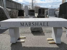 black granite memorial benches bench decoration