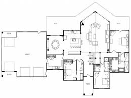Ranch Open Floor Plans by 100 House Plans Open Makeovers And Decoration For Modern