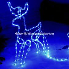 reindeer sleigh with led lights buy reindeer sleigh with led