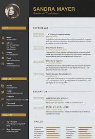 Free Graphic Design Resume Templates by Graphic Design Resume Templates Beautiful Best Free Resume