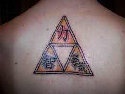 triforce of courage tattoo triforce free download tattoo design