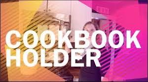 Under Cabinet Cookbook Holder Plans Cabinet Cookbook Holder Plans