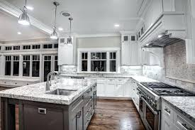gray countertops with white cabinets white cabinets with white granite interesting kitchen with white