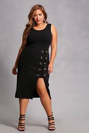 forever 21 plus size lace up dress fashion for the curvy woman