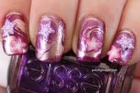 water marble stars nail art fashion fuz