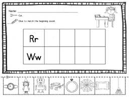initial sound cut and paste freebie by judith heideman tpt