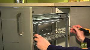 amortisseur tiroir cuisine eggo régler la profondeur de la porte de meuble à épices