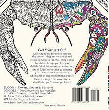 amazon splash coloring book stress free coloring