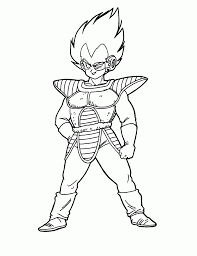 online for kid dragon ball z printable coloring pages 24 in free