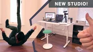Ikea Furnitures New Studio With Ikea Furniture Nilserik And Skarsta Youtube