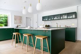 green kitchen cabinets with white countertops 11 green kitchen cabinet paint colors we swear by