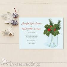 Christmas Wedding Invitations Winter Wedding Invitations Cheap Invites At Invitesweddings Com