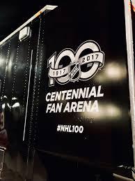 nhl centennial fan arena nhl centennial fan arena trailer wrap black designs