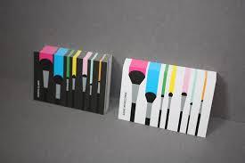 freelance makeup artist business card 20 innovative and creative business card designs designcoral