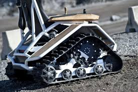 Power Chair With Tracks Rethinking Personal Mobility The Ziesel Designer Jan Dornig