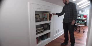 how to make a bookcase that u0027s also a secret door attic