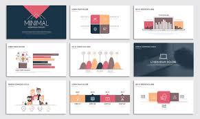 Presentation Slide Templates And Business Brochures On Behance Slide Templates