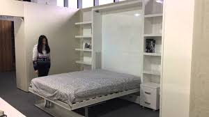 Wall Bed Sofa by Matrix Space Murphy Bed With Or Without Sofa Youtube