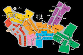 Miami Beach Bus Map Mall Map For Sawgrass Mills A Simon Mall Located At Sunrise