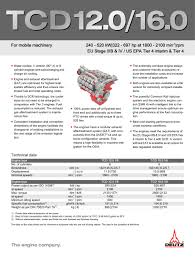 tcd 12 0 v6 engine for industrial applications deutz pdf