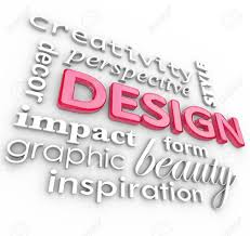 design inspiration words the word design and related words in a collage representing