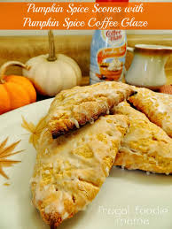 pumpkin spice for coffee frugal foodie mama pumpkin spice scones with pumpkin spice coffee glaze
