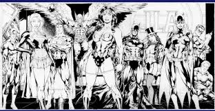 jla u2013 black white zoom comics daily comic book wallpapers
