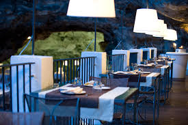 restaurant inside a cave in italy the best cave