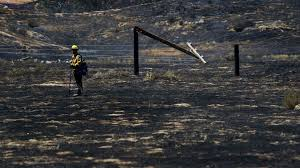 Wildfire Map Los Angeles by 5 800 Acre Wildfire Burning Near Beaumont Is 20 Contained La Times