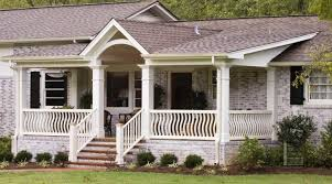 ranch house front porch ideas