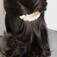 feather hair clip feather hair pin feather hair clip leaf hairpin leaf hair clip