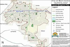 west covina ca map section 3 risk assessment city of west covina