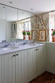 tongue and groove bathroom ideas bathroom design lewis wood floral wallpaper tongue groove