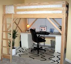 How To Make A Loft Bed With Desk Underneath by 25 Best Full Bed Loft Ideas On Pinterest Full Bed Mattress