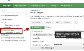 adwords bid adwords bid strategy in search network caign sagar gola