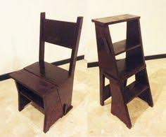 Library Step Stool Chair Combo Amish Handcrafted Library Step Stool Chair Combo м лавки